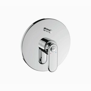 Veris single lever bath mixer