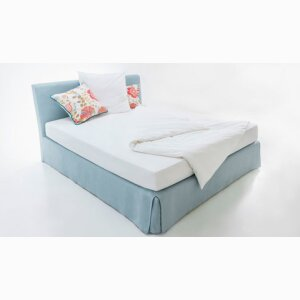 BACKBREAK CLASSIC BOX SPRING BED WITH COVER