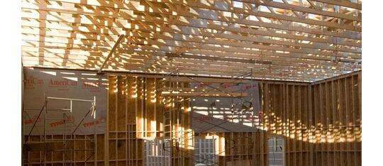 Light wood frame - Wall Panels by Quebec Wood Export