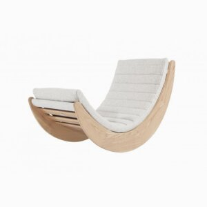 Verner Panton Relaxer One Chair Natural Frame