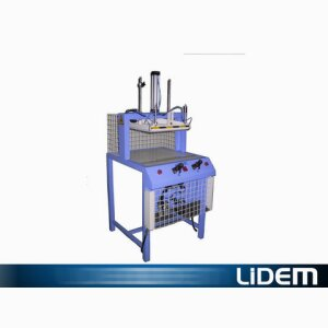 Vacuum packaging press