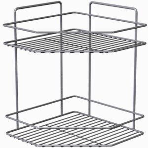 CORNER SHELF 2 LEVELS SILVER SILVER LM 245