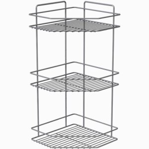 CORNER SHELF 3 LEVELS SILVER SILVER LM 246