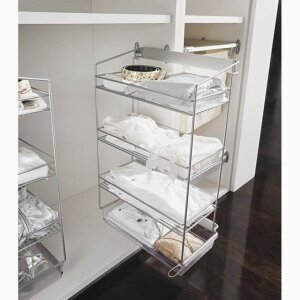 3-TIER SIDE-MOUNTED PULL-OUT UNIT