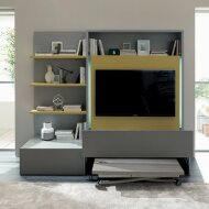 SMART LIVING Wall unit with tv stand