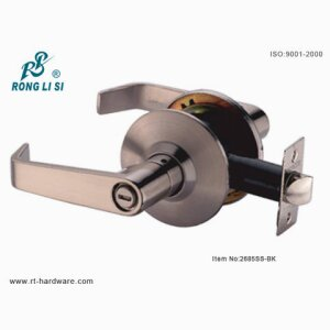 2685SS-BK cylindrical lever lock