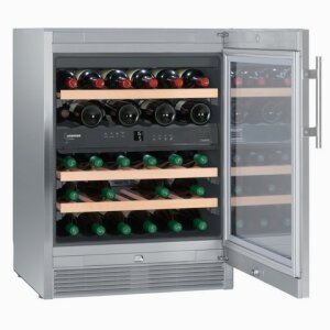 WTes 1672 Vinidor - Multi-temperature wine storage cabinet