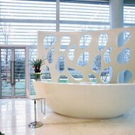 Solid surface / Mineralwerkstoff for Hotels