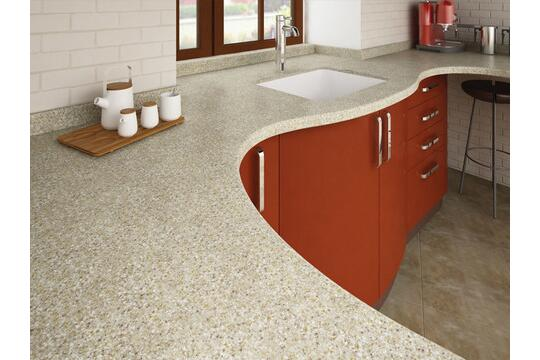 Solid surface / material for Kitchen by AKRILIKA GERMANY ...