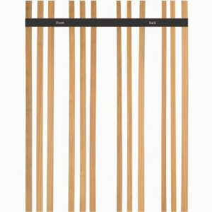Decking strips Quarter Sawn