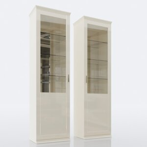 Glass-door wall cabinet 108L/R