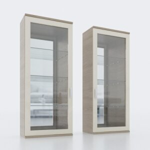 Wall display cabinet 404B L/R