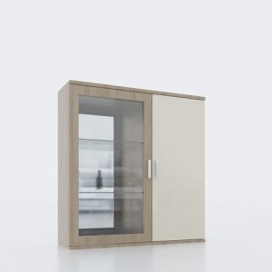 Wall display cabinet 406L/R