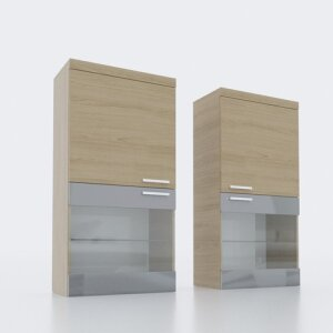 Wall display cabinet 604L/R