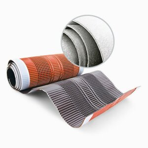 Coated and laminated aluminium strips