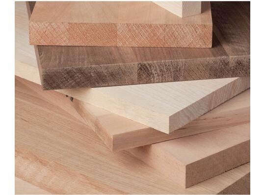 Solid Wood Panels With Continuous
