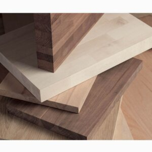 Solid Wood Panels with Finger-Jointed Lamellas