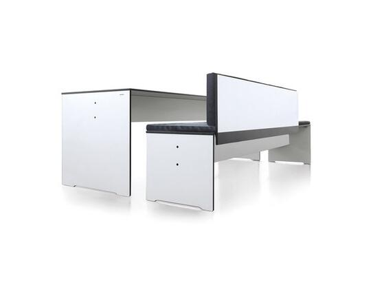 Fabulous Riva Bench With Backrest By Lions At Work Gmbh Conmoto Short Links Chair Design For Home Short Linksinfo