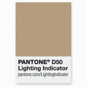 PANTONE Lighting Indicator Stickers D50 item code: PLISD50