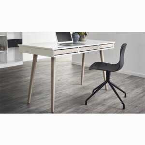 MISTRAL DESK WITH WOODEN LEGS