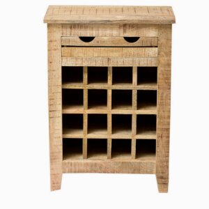 Wine rack Frigo (mango wood massive)