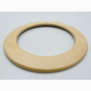 Round veneered furniture parts