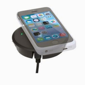 Wireless Smartphone charger grommet