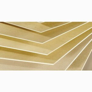 HDF/MDF HOMADUR® RAW Wood Fibreboards
