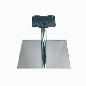 Base plates with stainless steel cover (square design), 50 mm standpipe FP 450x450 H 350