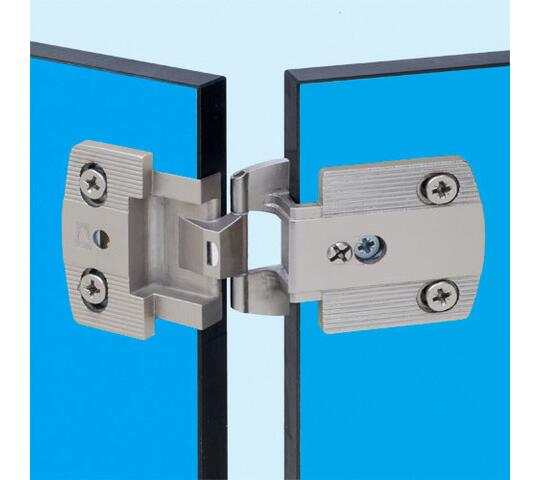 Flat hinges for thin panels by PRÄMETA GmbH & Co  KG