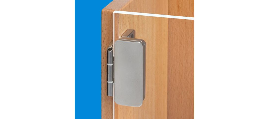 Overlay Glass Door Hinge New Now With 3d Adjustment By Prmeta Gmbh