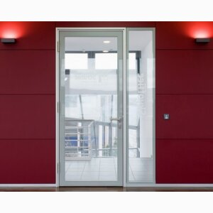 Fire protection door - Flush bonded glazing door SG 78