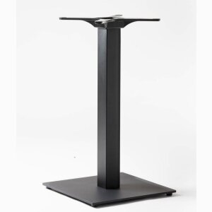 Table base: FLAT B 10 (BK,WH,ALU)