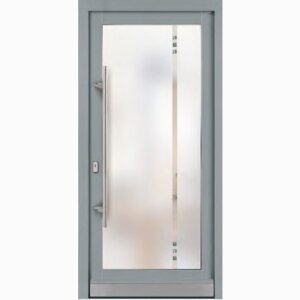 Biffar wooden entrance doors with glass
