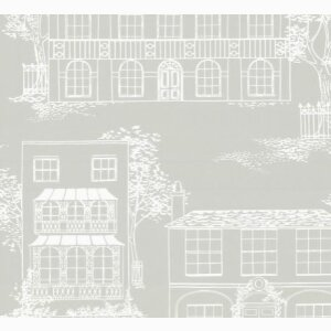 Wallpaper: Hampstead - Cool Grey