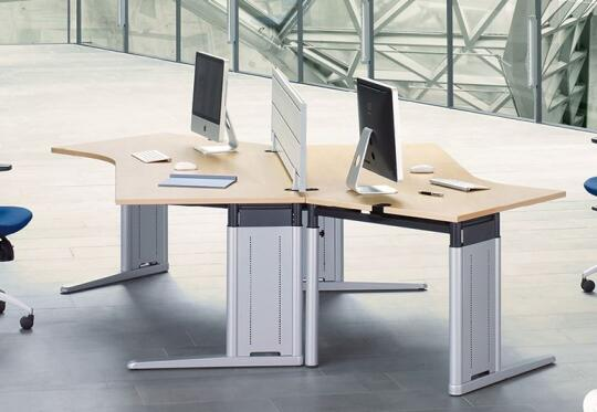 Table METRA by König + Neurath AG Büromöbel Systeme | Office ...