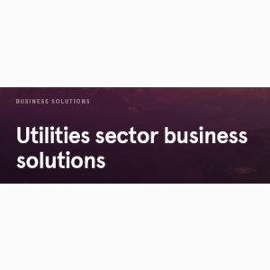 Utilities sector business solutions