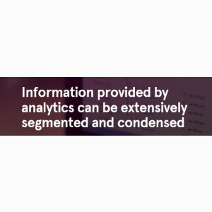 Analytics and Insight