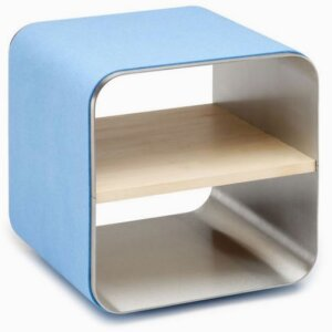 »ES400a/e«, special colour sky, fitted shelf maplewood