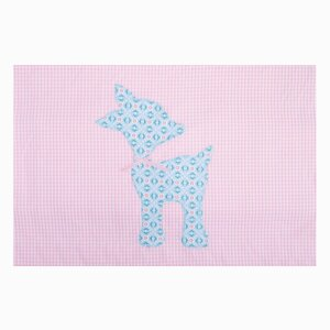 Cotton teddy blanket Anri
