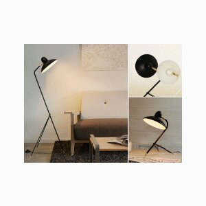 Arles Table and Floor Lamp