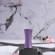Geometric Honeycomb candle