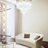 AID602 Delara Gold (Aida) - wallcovering