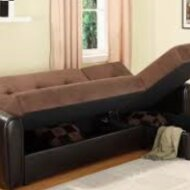 L style sofa section