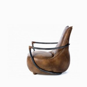 Sofa Bosk whiskey leather