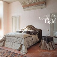 Country Living upholstered bed 8