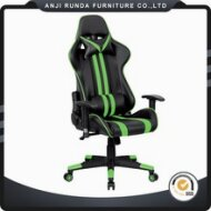 RD-6004 PVC Office Chair Ergonomic Leather Racing Gaming Chair