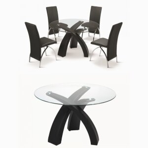 Hot Sell Home Furniture Dining Table and Four Chairs Design