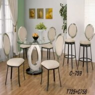 T725+C758+C759 Dining table set