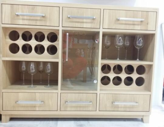 Product Picture 01 Of Solid Oak Wine Cabinet In Cabinets